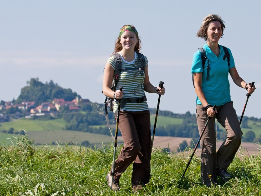 Nordic Walking Parkstein AOK Parcours